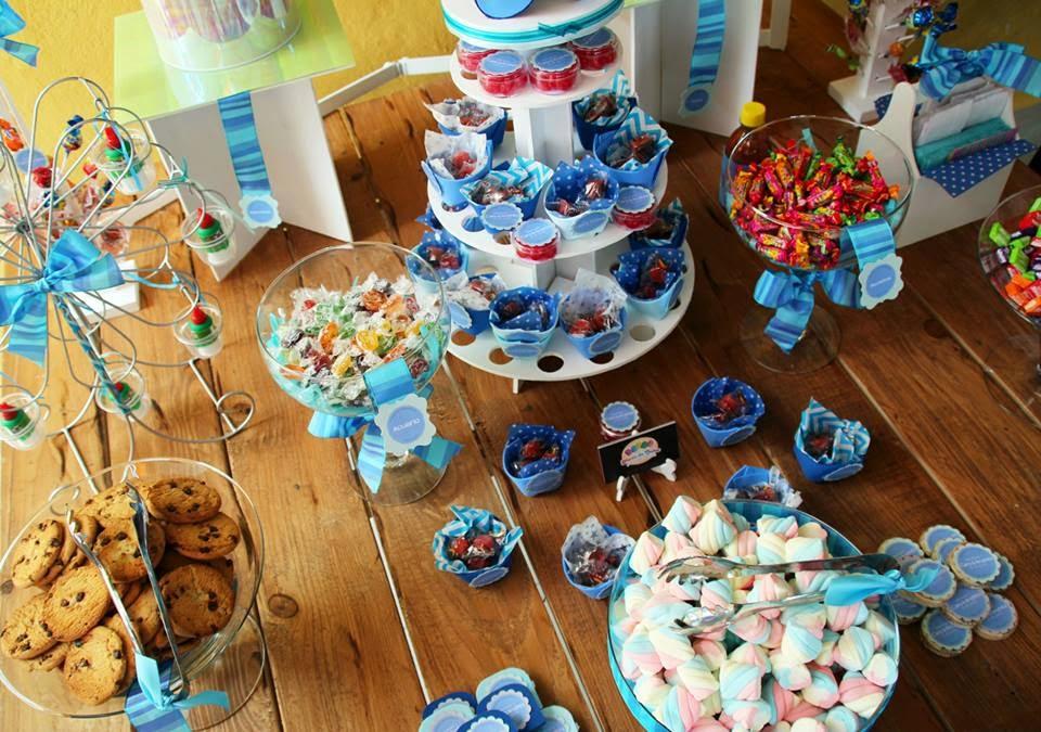 mesa de dulces babyshower por okmira