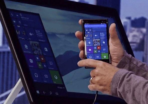Microsoft Continuum: Για να χρησιμοποιείς μόνο το smartphone και σαν υπολογιστή [Video]
