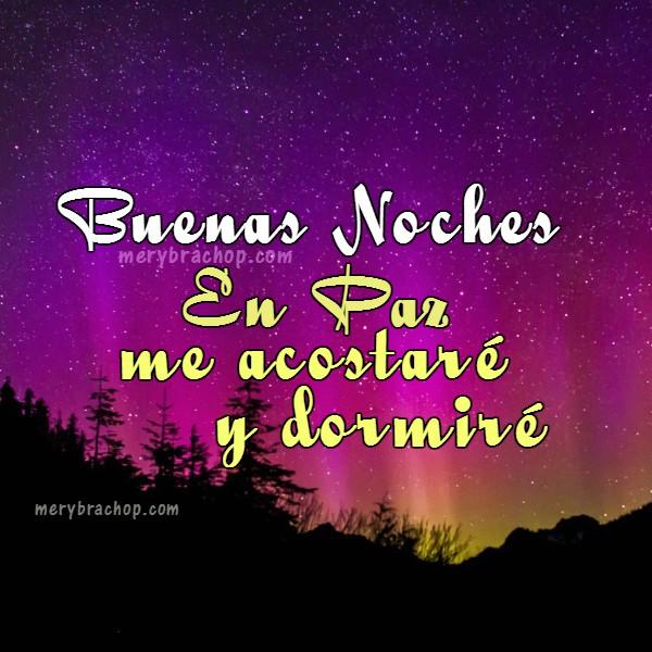 mensajes cortos de buenas noches con frases e imágenes cristianas para muro facebook, versículos con frases de feliz noche por Mery Bracho.