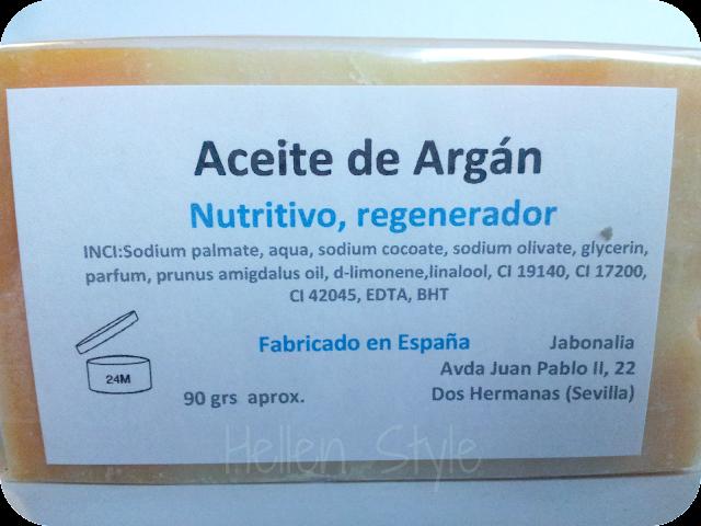 Jabón artesano natural de Jabonalia