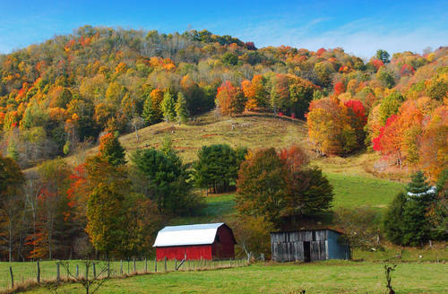 Autumn Mountain Scenes Images Autumn Posters Picture