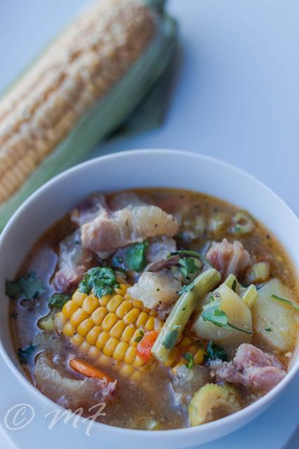 Supă cu cartilaje în stil peruan