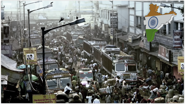 most highly populated india