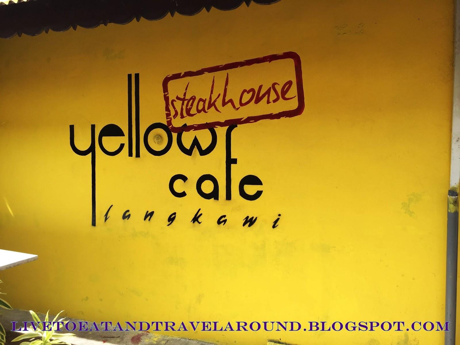 langkawi yellow cafe pantai cenang the villa zf restaurant - Yellow Restaurant 2015
