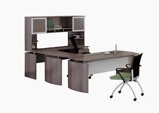 Medina U Shaped Desk Configuration
