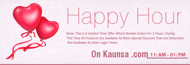 Happy Hours at Kaunsa.com