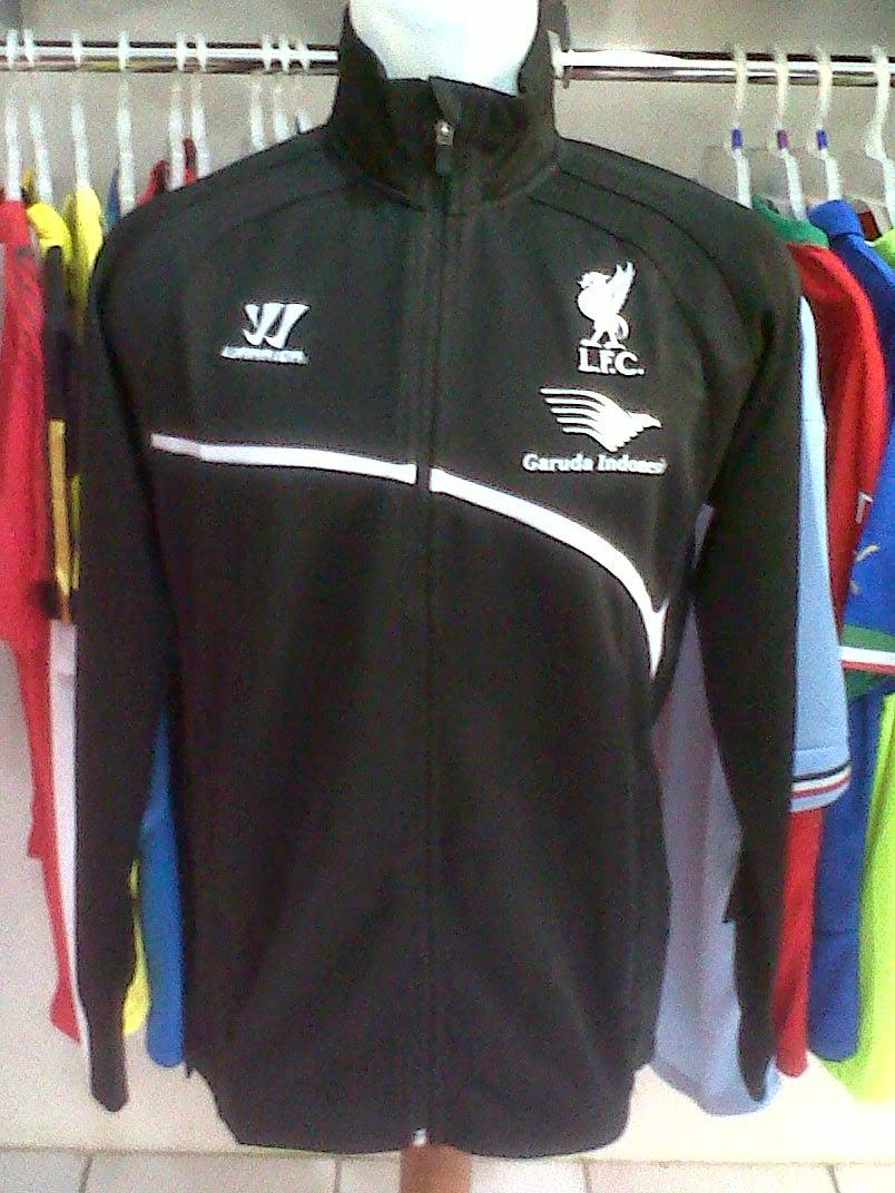 Jaket Liverpool Garuda Black 2014/2015