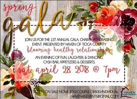 4-28 Haven Spring Gala Fundraiser