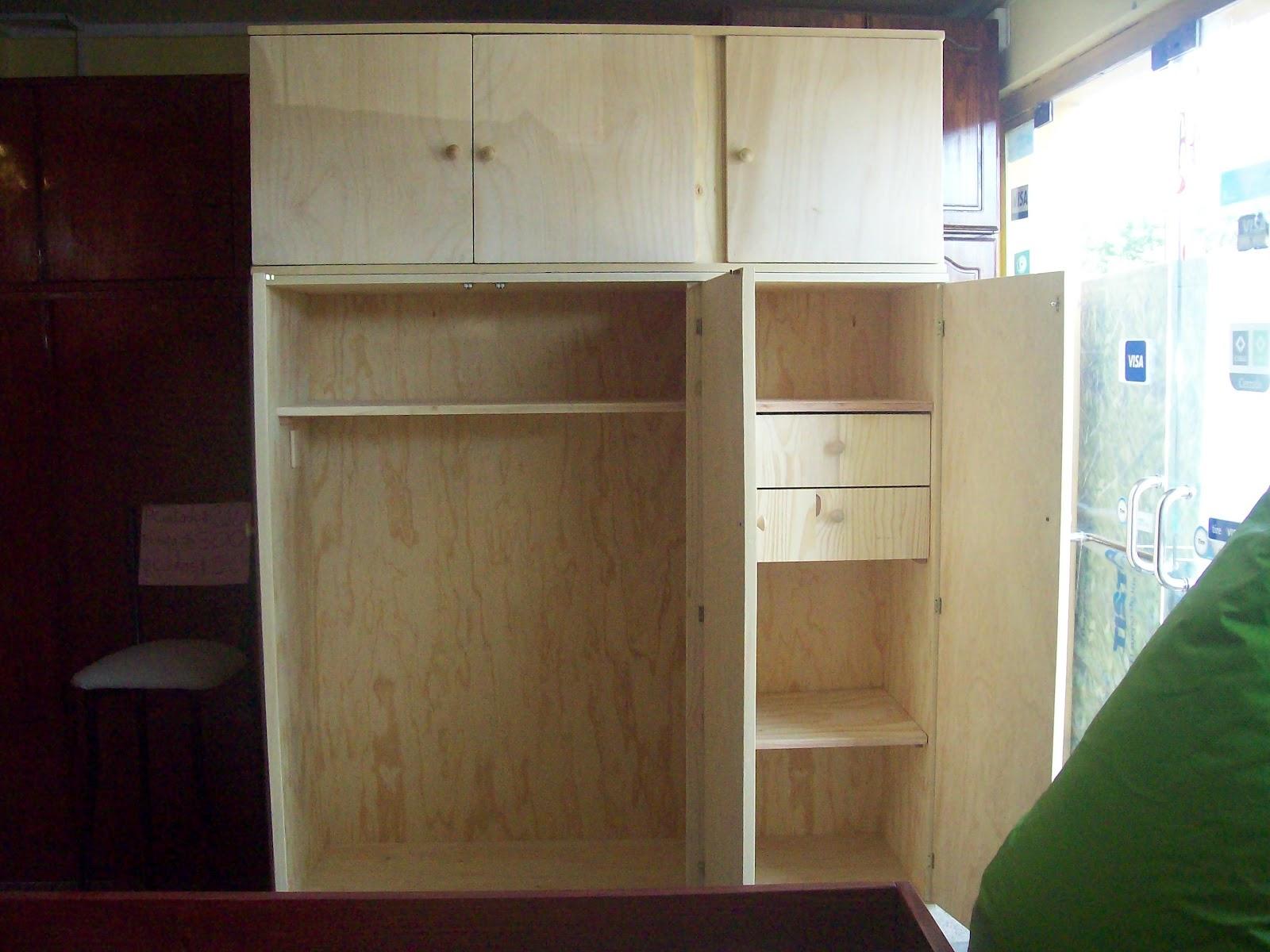 Muebles mym placares for Fabrica de muebles de pino precios