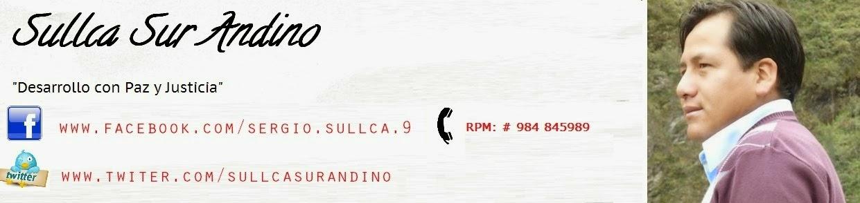 Sergio Sullca - Sullca Sur Andino
