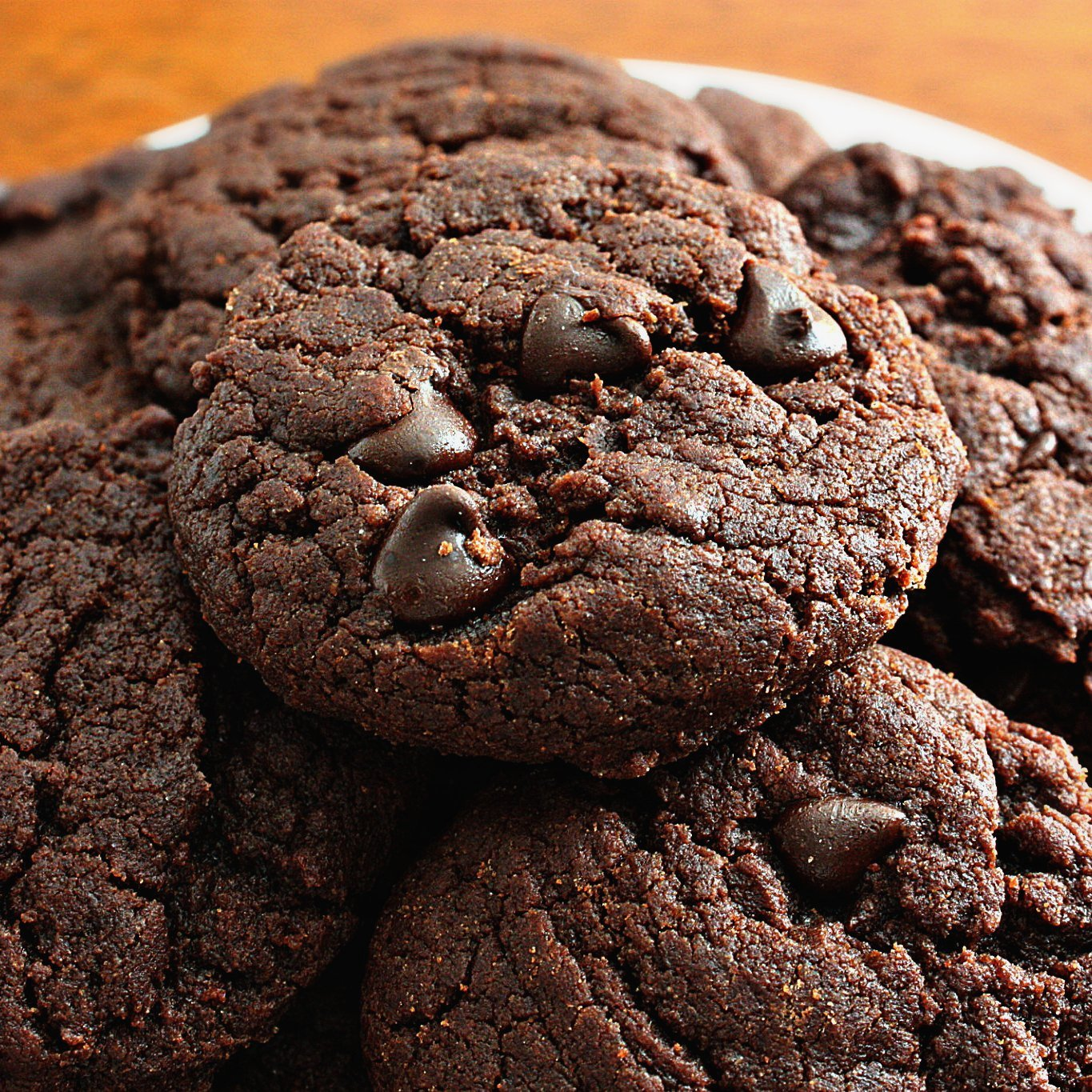 Art of Dessert: Vegan Double Chocolate Chip Cookies