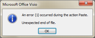 Eng shady mohsen blog copy equation from ms word to visio im using microsoft office 2010 and visio 2007 in fact when i copy an equation from microsoft word to visio directly it gives me an error like this in the ccuart Gallery