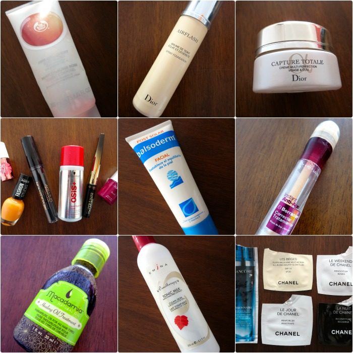 October empties by Marshmellow's Diary