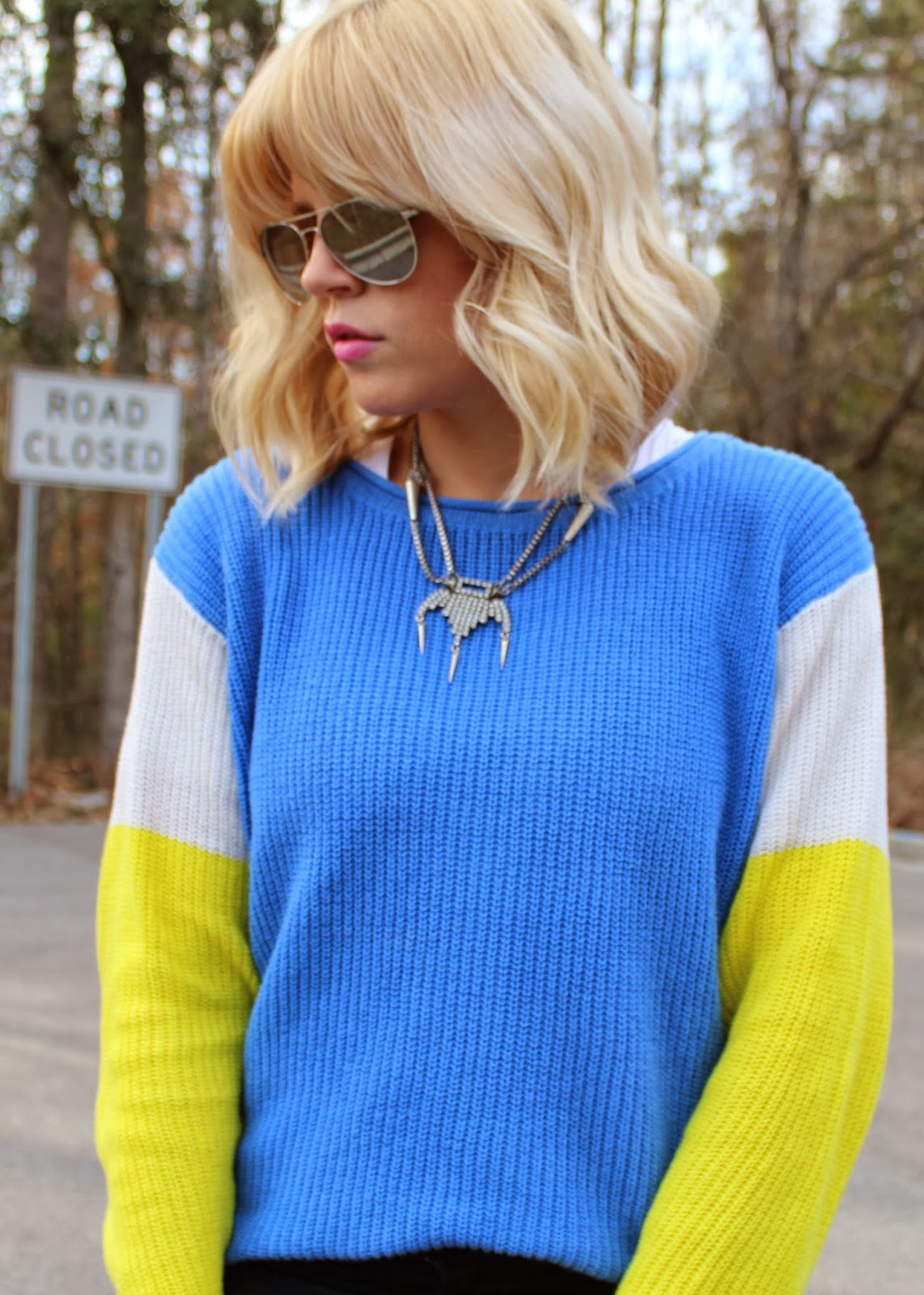 i love a good comfy sweater and this one is bright and light!!