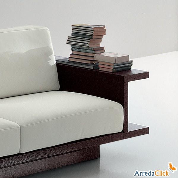 Consolle Ingombro Ridotto Solution : Divani con librerie più funzioni in poco spazio