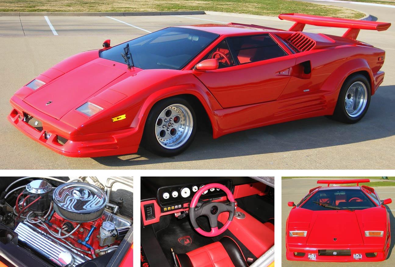 Lamborghini Countach Replica For Sale >> Luxury Lamborghini Cars: Lamborghini Countach Replica