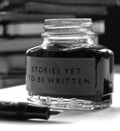 Stories yet to be written...