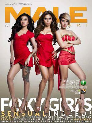 Gaya Foxy Girls Di Majalah Male (mata Lelaki)