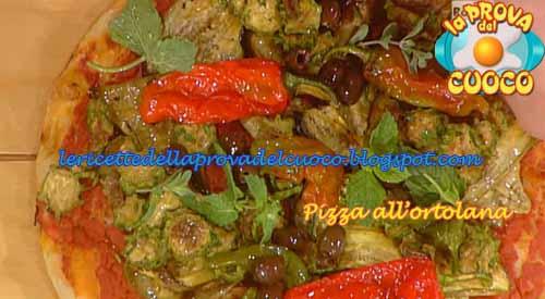 Pizza all'ortolana ricetta Bonci da La Prova del Cuoco