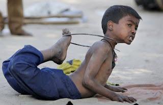 children working for survival