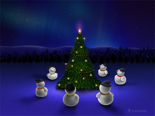 Gallery Christmas Desktop Wallpaper