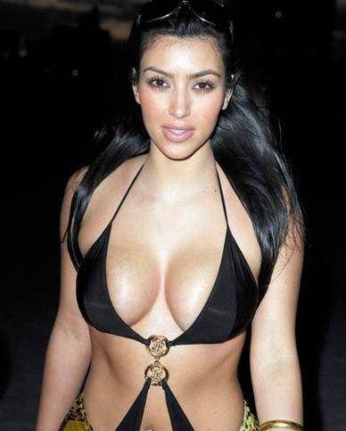 kim kardashian pics in a bikini