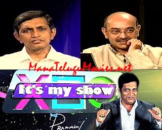 JP and Gunnam Gangaraju in Prakash Raj's Its My Show -19th Apr