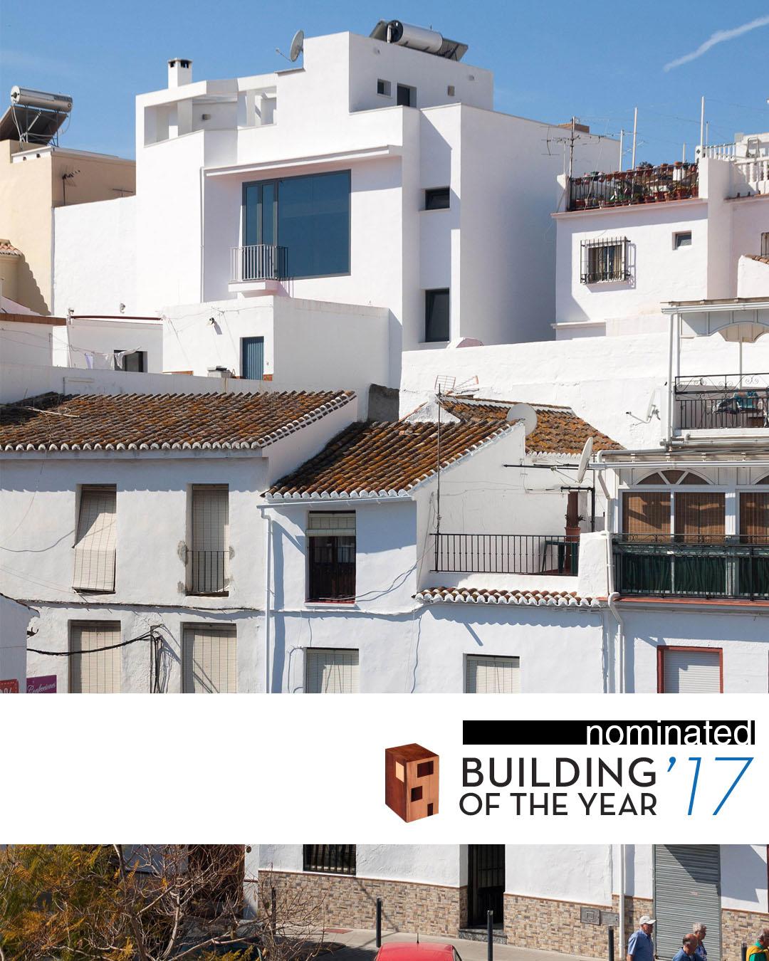 NOMINADO AL 2017 BUILDING OF THE YEAR