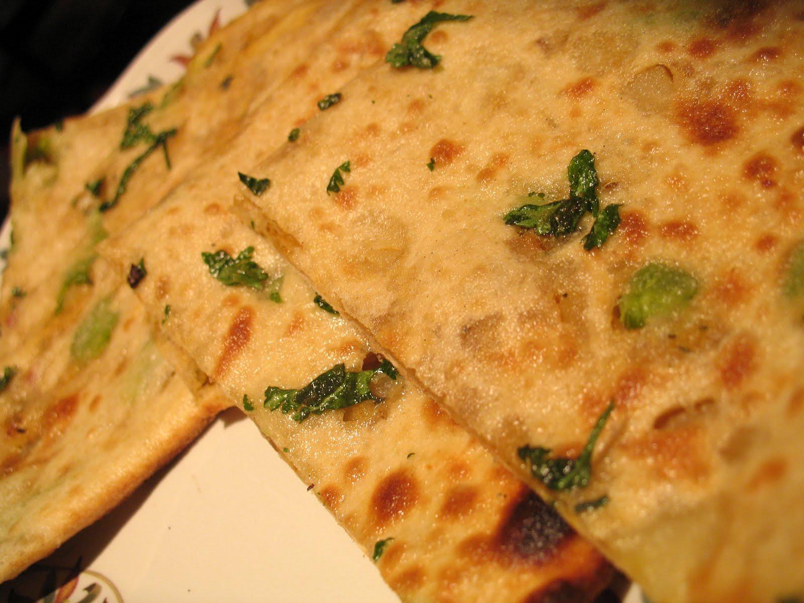 Masala Twist: Mint Roti/Paratha