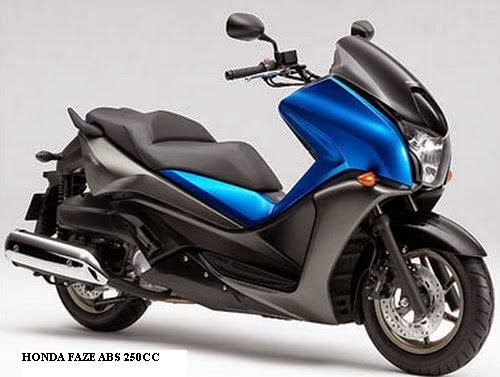 honda scooter honda faze 250cc. Black Bedroom Furniture Sets. Home Design Ideas