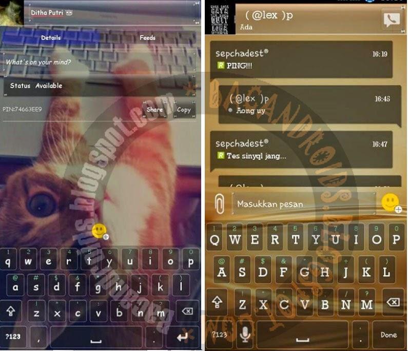 cara merubah dan mengedit tema keyboard android menjadi keren dan transparan