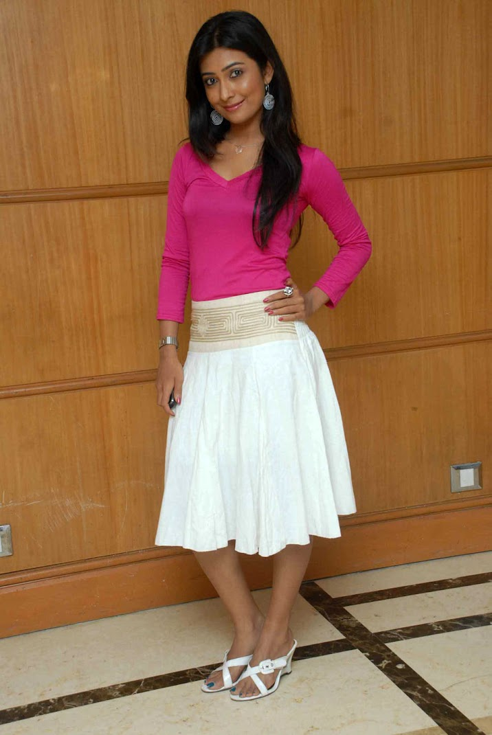 Radhika Pandit Stills in Pink Top