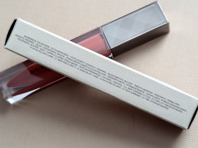 Burberry Kisses Lip Gloss in Cameo Nude No.21 Ingredients