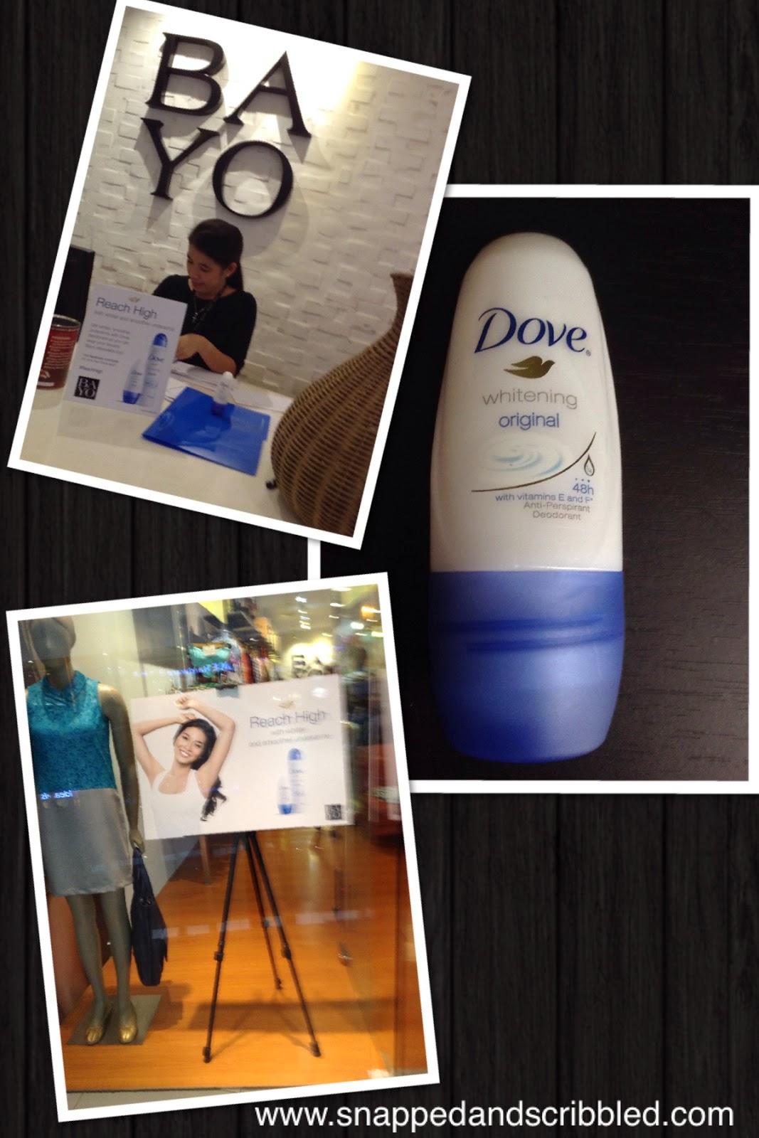 FREE Dove Original Deo