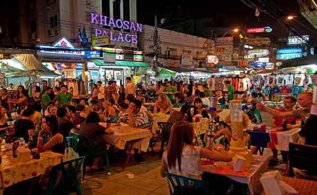 Tempat Wisata Thailand - Khao San Road