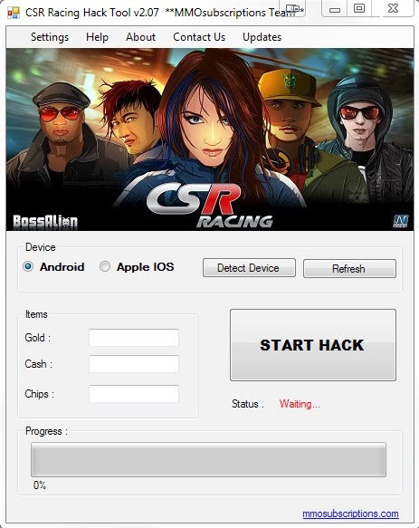 How safe is CSR Racing hack and how to get it?