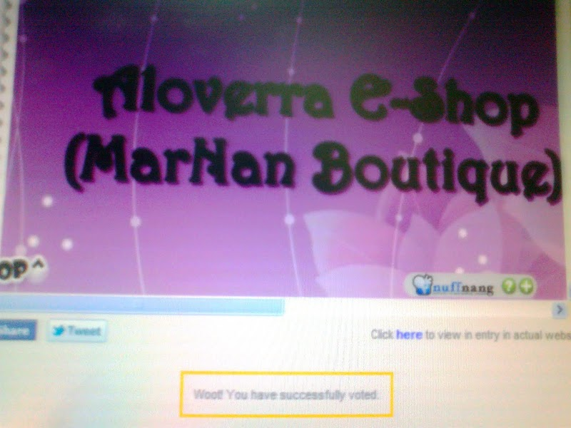 Vote For MarNan Boutique Please...