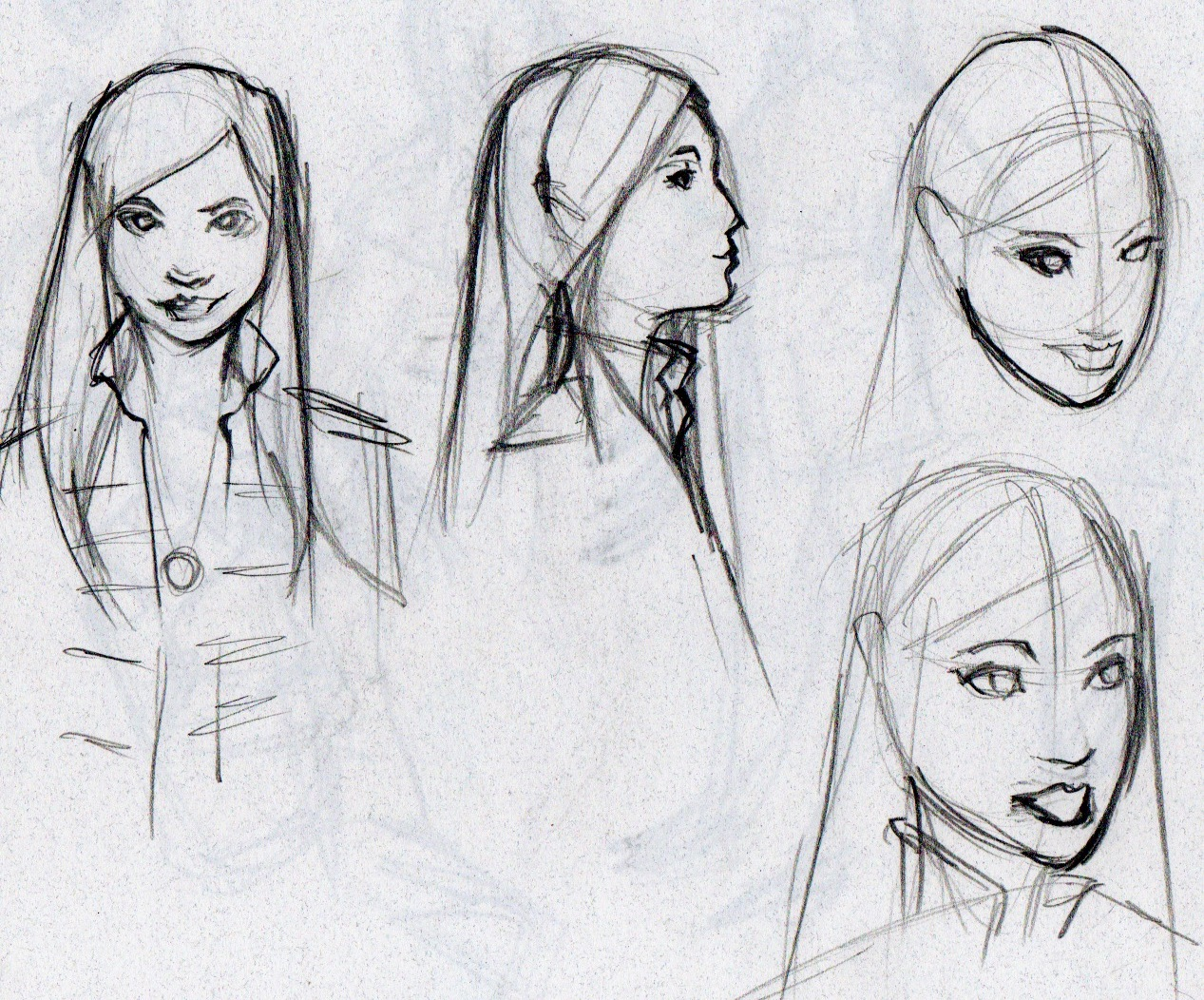 Character Design Study : The art of mark igama