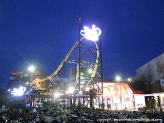 Yamaha Racing Coaster Night Trans Studio Bandung