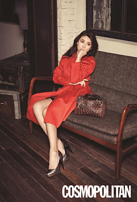 Lee Bo Young - Cosmopolitan Magazine December Issue 2013
