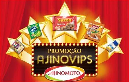 Promoção Ajinovips Ajinomoto com Marcio Garcia