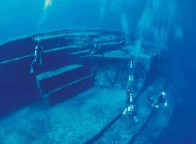 Piramida bawah laut di Karibia