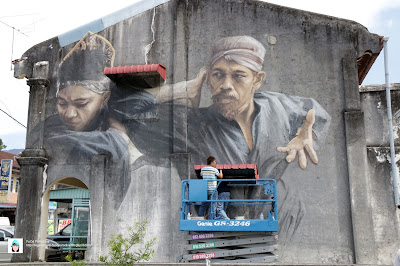 Balik Pulau Art Mural