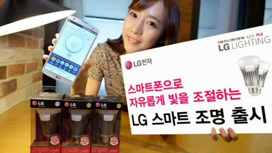LG's new smart lamp connects to iOS and Android
