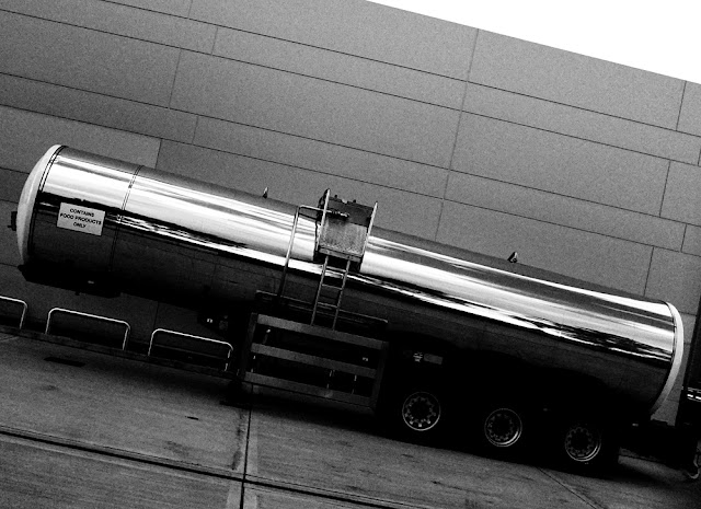 Tanker, Ilford FP4 - Photography by Tim Irving