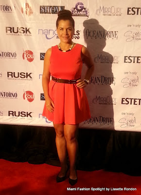Red Carpet at the Miami Beach Convention & Beauty Show