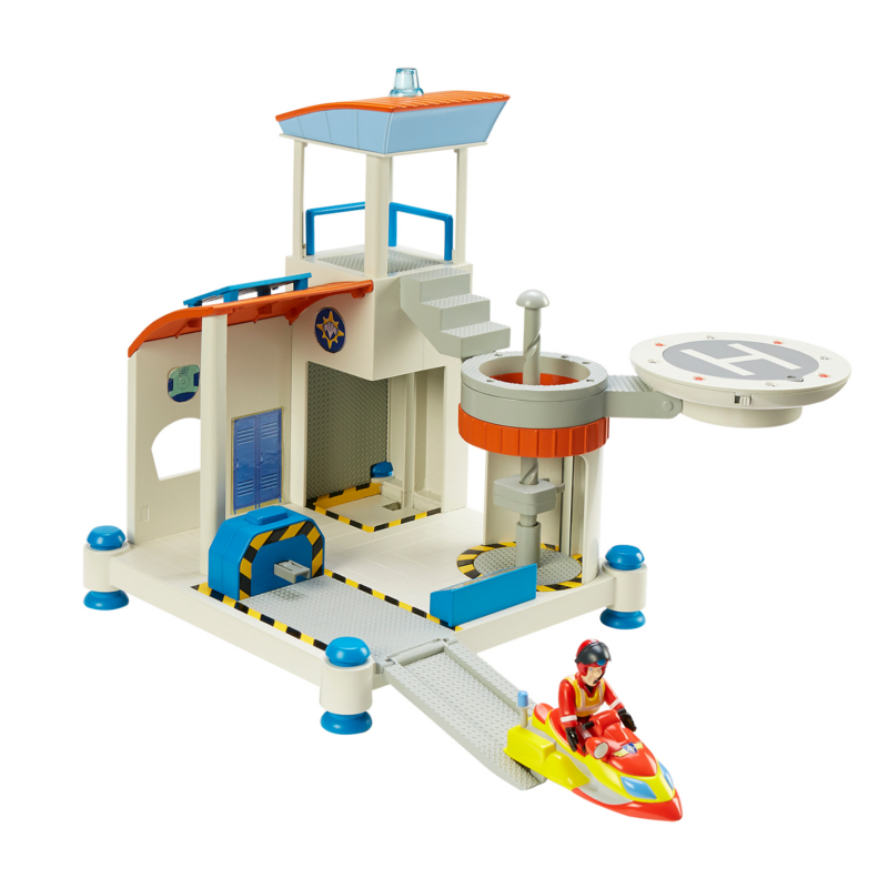 Fireman Sam Ocean Rescue Centre Playset