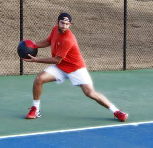 Tenis Antrenmanı Sağlık Topu