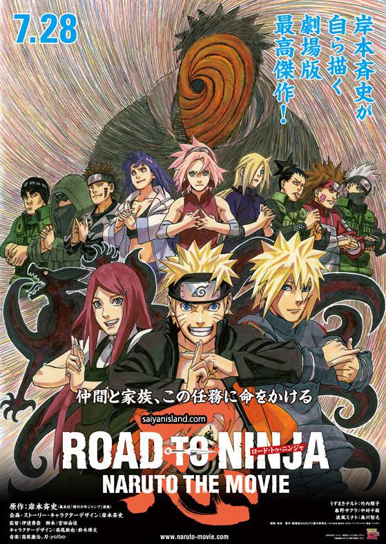 Naruto: O Filme 6 (Road to Ninja: Naruto the Movie) (2013) - Torrent
