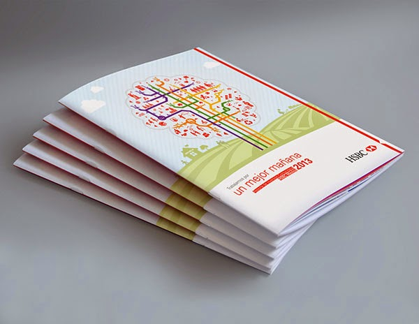 annual report design inspiration